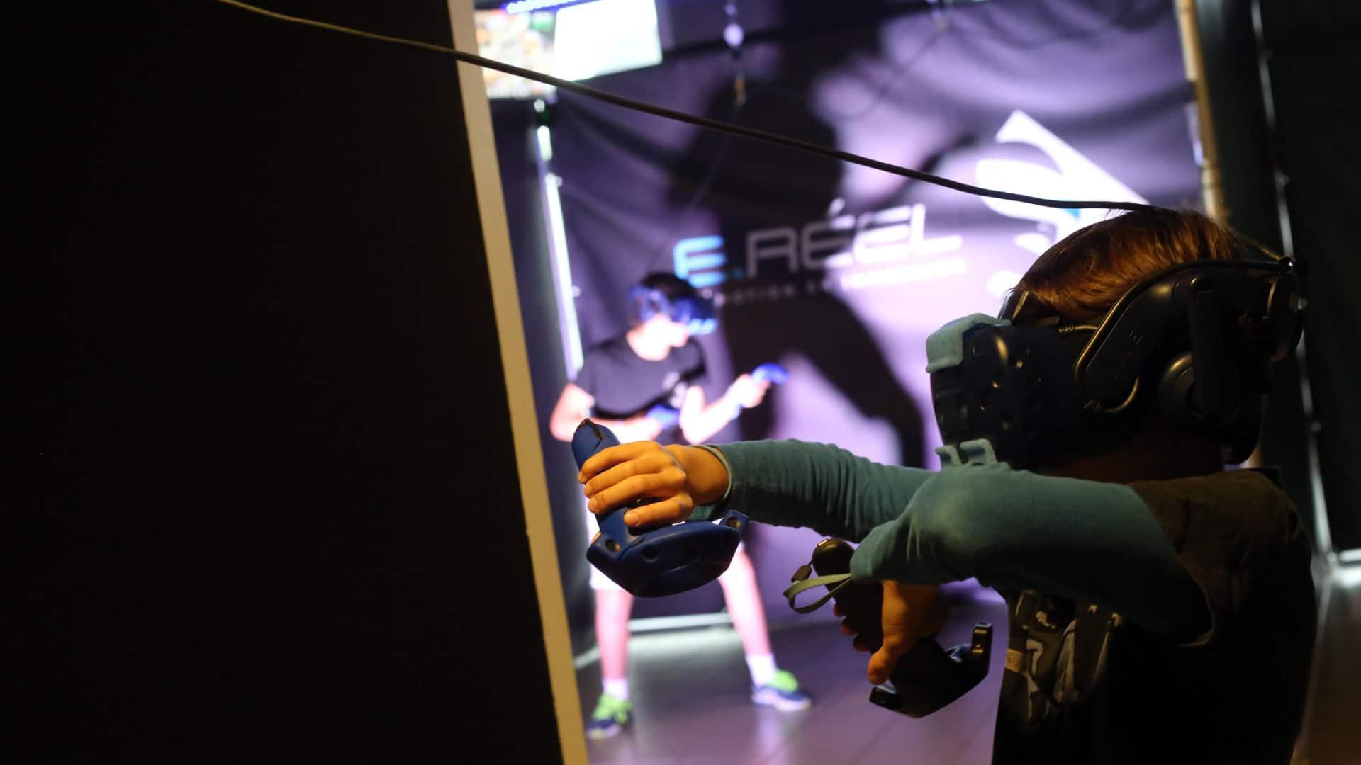 La VR, une alternative au laser game à Annecy