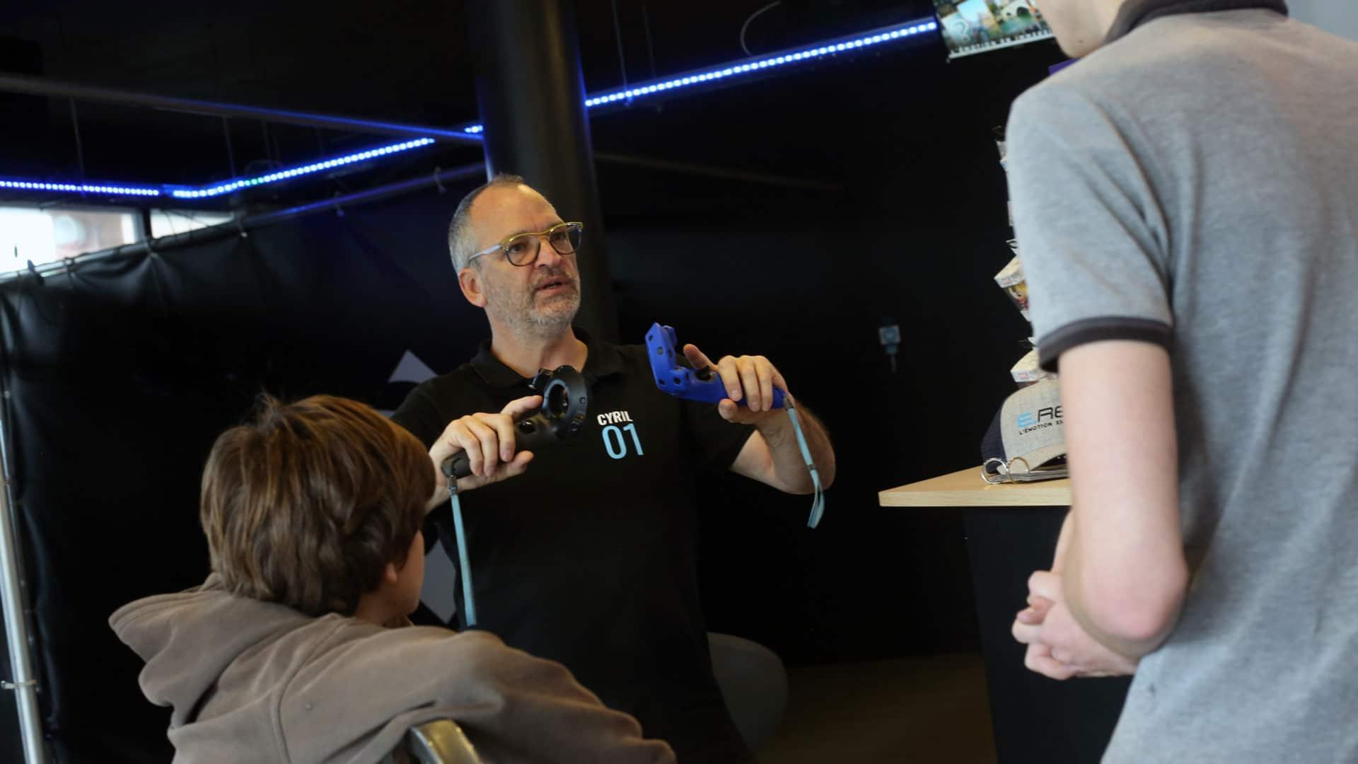 La VR, une activité de groupe pour enfants à Annecy